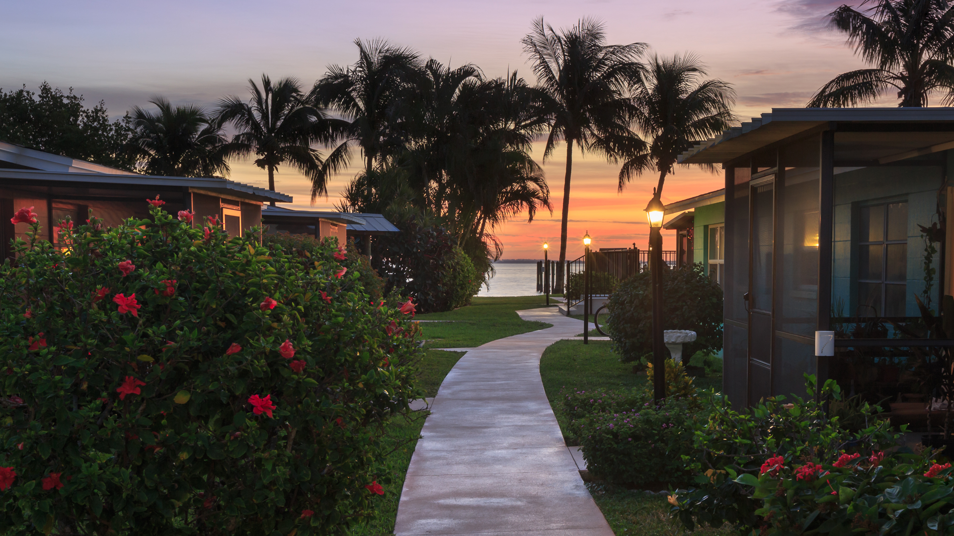 Captiva Cottages sunrise