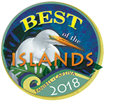 Awarded 2018 BEST of the Islands (Cottage Rentals)